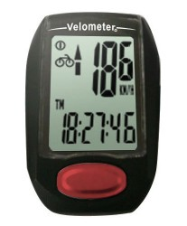 VELOMETER-CY-309BW-9-FUNCTION-CYCLE-COMPUTER-NEW-SEALED