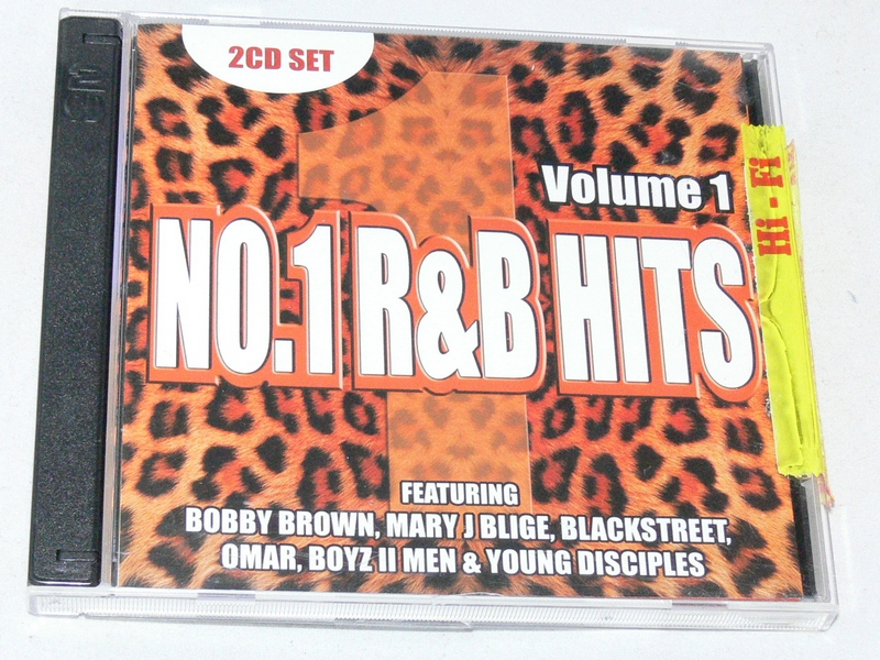 No-1-R-And-B-Hits-2-Disc-Compilation-CD-Unsealed